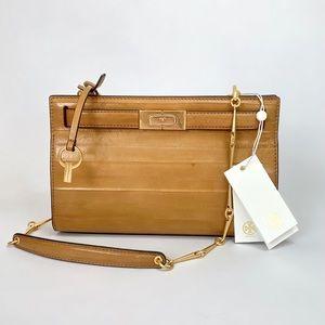 ⭕️ TORY BURCH Lee Radziwill Eel Leather Hand Bag